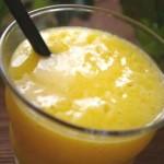 簡単ジュースレシピ/Vol.5~暑い夏の朝にピッタリ~「楽園マンゴー」