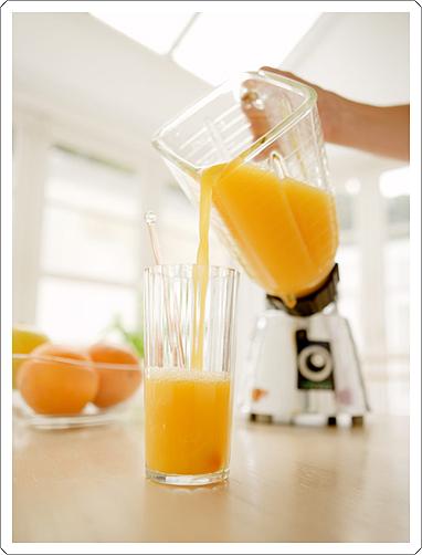 フレッシュなパワーをカラダに…フレッシュ・オレンジジュース