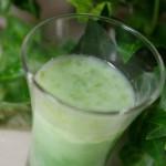 簡単ジュースレシピ/Vol.10~代謝アップ~「翡翠(ひすい)ジュース」