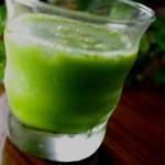 簡単ジュースレシピ/Vol.26~体内を正常化!~「美味しい青汁」