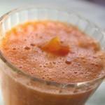 簡単ジュースレシピ/Vol.50~健やかに~「太陽のオレンジジュース」