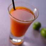 簡単ジュースレシピ/Vol.61~体内すっきり~「生絞りニンジンジュース」