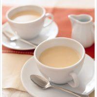 朝美人Lesson63♪たっぷりミルクでゆっくり紅茶を淹れる