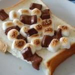 5分でできる!「チョコマシュマロトースト」~めんどくさがり屋さんの簡単あさごはん~