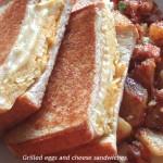 フワフワ、サックリ!「エッグ&チーズのホットサンドイッチ」