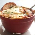 溶け出すおいしさとチーズの相性が◎!「ネギのグラタンスープ」