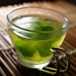 簡単ジュースレシピ/Vol.79~気分すっきり~「ミントグリーンティー」