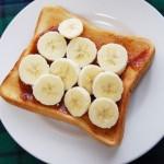 5分でできる!「バナナトースト」~めんどくさがり屋さんの簡単あさごはん~