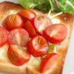5分でできる!「プチトマトチーズトースト」~めんどくさがり屋さんの簡単あさごはん~