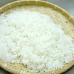 白米の炊き方(水をきる時間編)