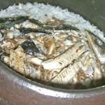 こんがりおいしい「秋刀魚ご飯」