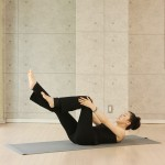 The Basic Mat Pilates vol.2 Single leg stretch