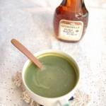 5分でできる「メープル抹茶ミルク」~簡単わくわく朝ごはん~