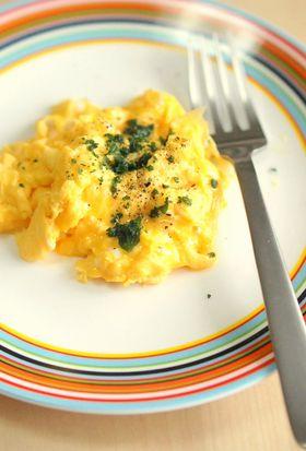 5分でできる「リッチスクランブルエッグ」~簡単わくわく朝ごはん ...