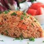 トマトが鮮やか!冷めてもおいしい「イタリアン・チキンライス」