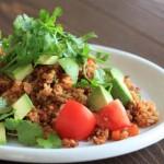 サラダ感覚で食べたい!「チリ&トマト 炊き込みご飯」