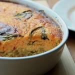 ボリューミー!野菜のうまみが溶け込んだ「オーブン厚焼き卵」