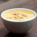 とろ~っとクリーミーな食感「里芋&カボチャのスープ」