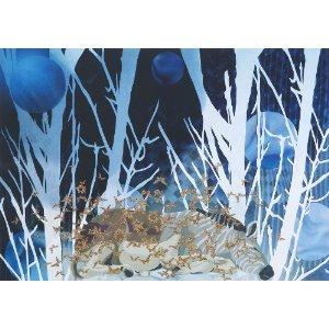 絶滅したクアッガは体の前半分だけ縞があるシマウマ。