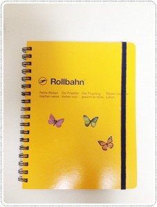 オレンジのノートを買いました☆この中にFashion&Body&仕事の計画などなど1年間色々書いていきます♪