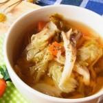 寒い朝は具だくさんスープで決まり!あたったか栄養満点スープレシピ5選