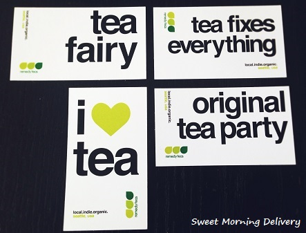 remedy tea's card