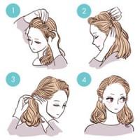 簡単3ステップ!すきま時間にできる前髪ヘアアレンジ