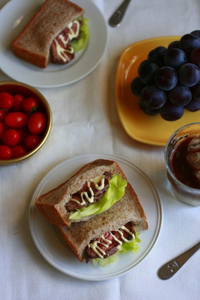 食パンで!簡単ポケットサンドのブランチレシピ