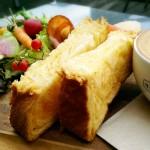 【大阪・北浜の朝食】ビジネス街のテラス席でモーニング@NORTHSHORE.hanafru