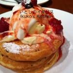 大阪でパンケーキの朝
