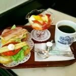【神戸・三宮の朝食】神戸っ子の愛するモーニングを食べよう!@神戸にしむら珈琲店
