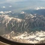 日本の上空からおはようございます