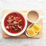簡単にボリュームアップ!作りおきで便利な雑穀入りスープ朝ごはん