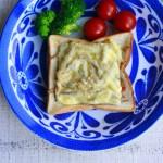 きんぴらごぼうでお惣菜トーストを作ろう!チーズとろける和ブランチ♪