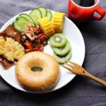 夏休みの朝ごはんに*フライパン1つで簡単ハッシュドポテトのワンプレート
