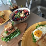 日曜日の朝ごはんに、グルテンフリーサンドイッチ!