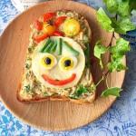 お盆休みに!子どもと一緒に作れる「デコトースト」レシピ5選