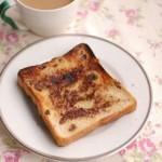 5分でできる「レーズンシナモンシュガートースト」~簡単わくわく朝ごはん~
