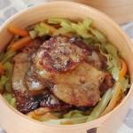 豚こま肉や薄切り肉で楽チン! 豚肉のしょうが焼きのお弁当