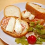 5分でできる!「ベーコンとカマンベールチーズのサンドイッチ」~簡単わくわく朝ごはん~
