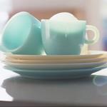 朝美人Lesson15♪お気に入りの食器を朝時間に並べて。