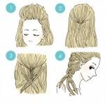 髪でハロウィン気分!オシャレに決まるプリンセス風ヘアアレンジ3選