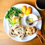 """ブロッコリーとゆで卵の""""麺つゆ""""ツナマヨサラダ付きワンプレート"""