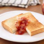 朝のトーストをもっと美味しく♪イチジクとりんごのジャム