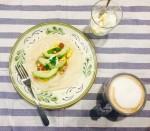 簡単メキシコ料理の朝食