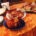 感謝祭ディナー: メインとサイドメニュー