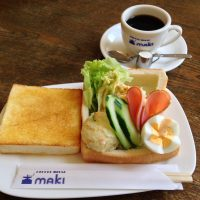 【京都・出町柳】下鴨神社から徒歩5分。「coffee house maki」のモーニング