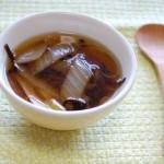 1分でできる!「黒酢のスープ」~めんどくさがり屋さんの簡単あさごはん~