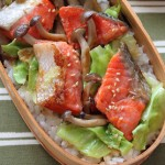 忙しい朝に!塩鮭とキャベツの「おかか丼」弁当