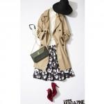 【日替わりコーデ術】ロングコートを着る日のコーディネート(ロングトレンチをレディに着るには)